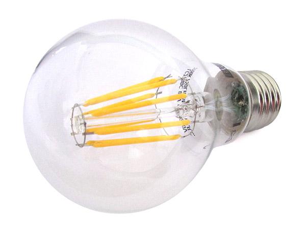 Lampada Filo Led Con Filamento E27 A60 8W 360 Gradi Bianco ...