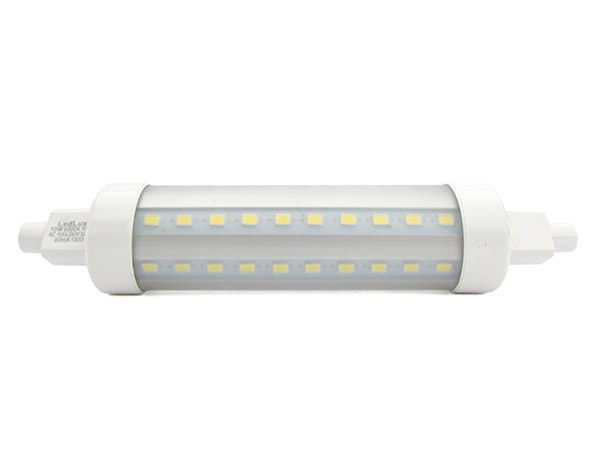 Lampada led r7s 360 gradi rx7s super slim lineare 118mm for Alogena lineare led